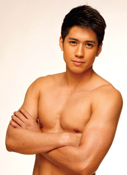 pinoy men model in wet undies nude