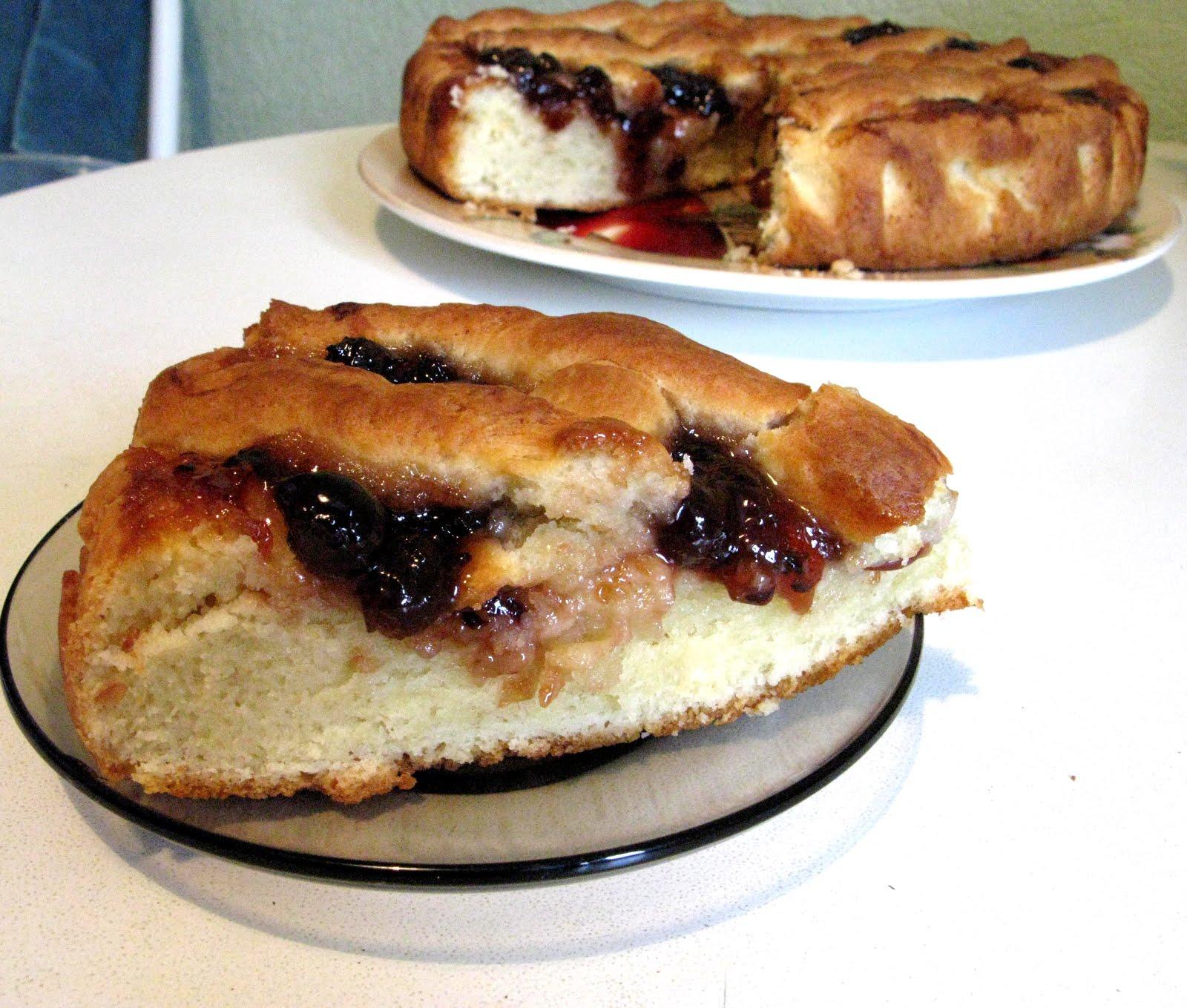 Пирог с джемом пошаговый рецепт фото