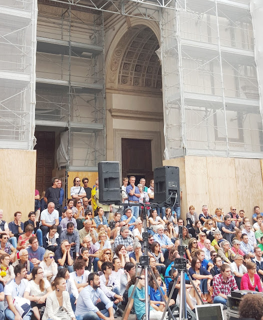 Digital for Social - Foto di Alberto Cardino durante Festivaletteratura Mantova 2015