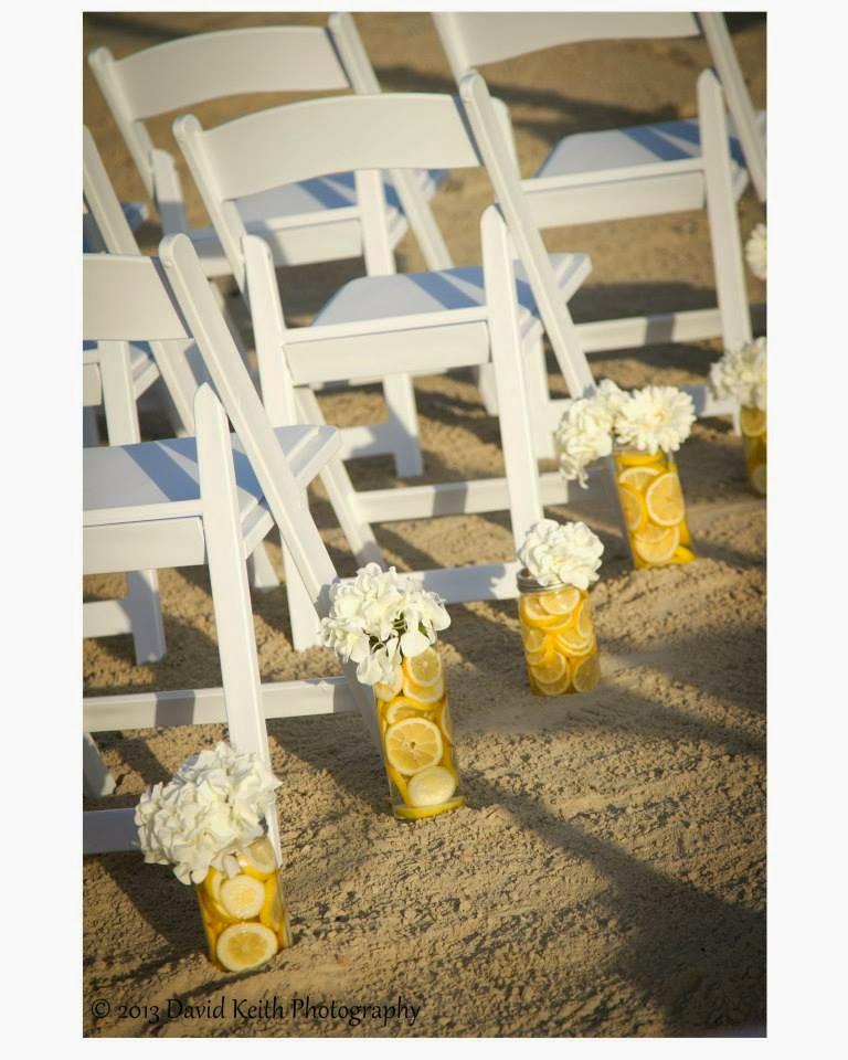 Coastal Chic Events: Aisle Decor for your Coastal Bend Beach Wedding