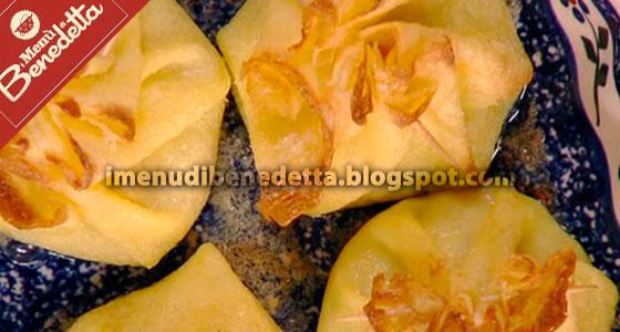 Caramelle di Crepes ai Carciofi di Benedetta Parodi