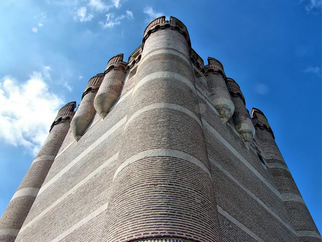 Castillo de Coca, Segovia, España.