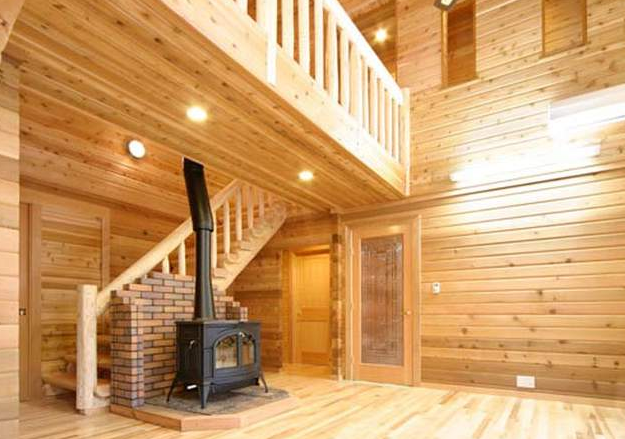 My Home Interior Design: Log Home Interiors