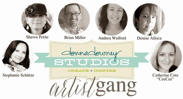 Donna Downey Artist Gang