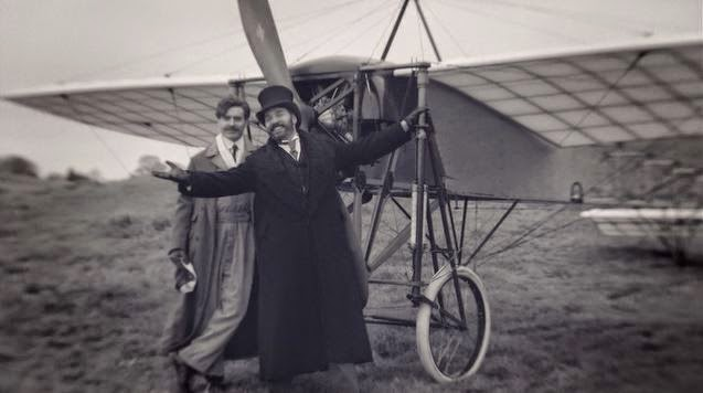Mr. Selfridge and Louis Bleriot