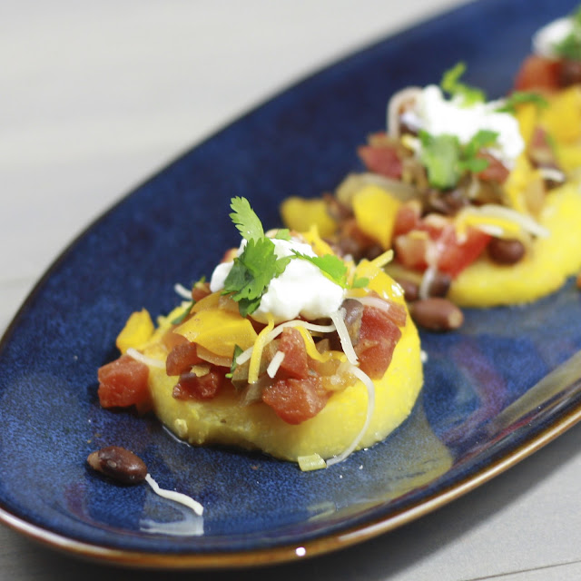 Mexican Polenta Stacks