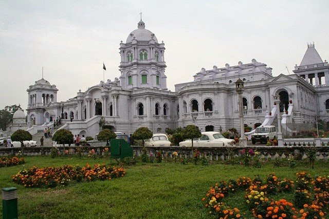 Ujjayanta Palace in Tripura