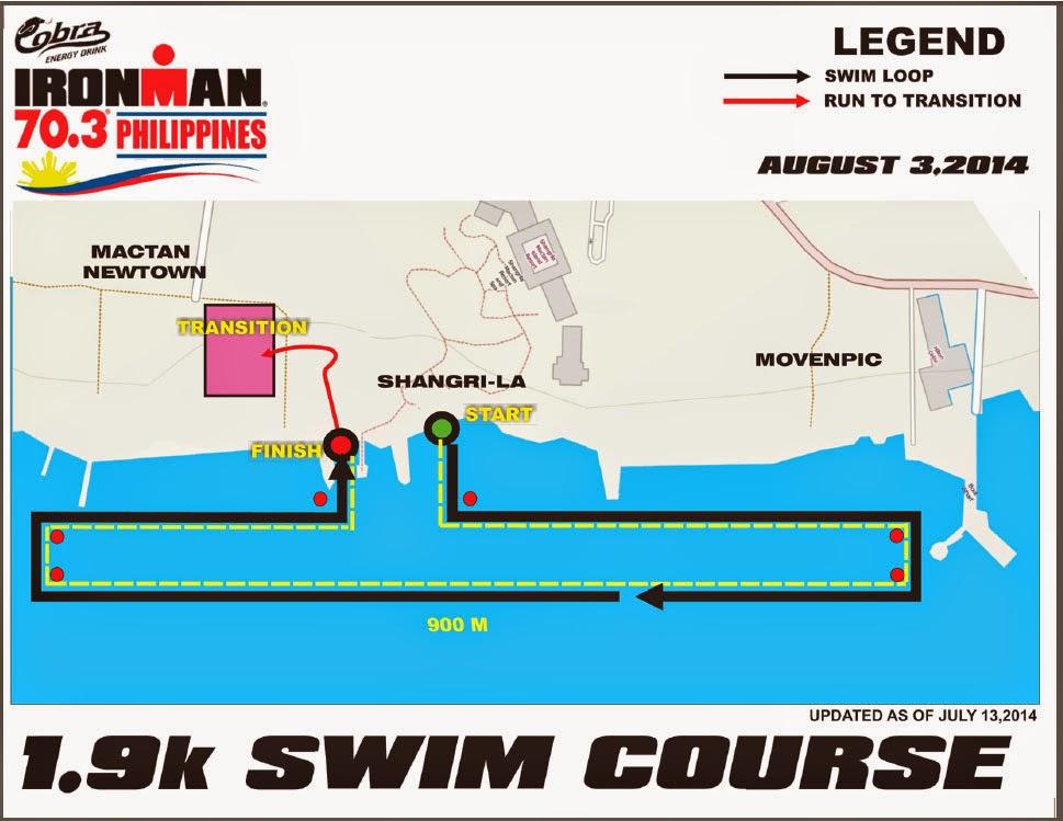Cobra+Ironman+70.3+Philippines-2014-1.9km-Swim-Course
