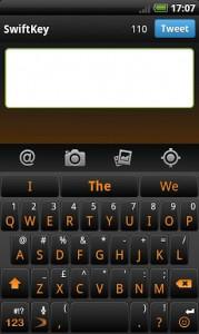 SwiftKey X Keyboard android