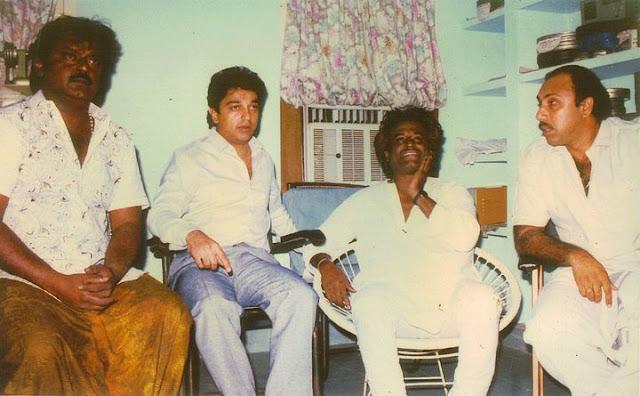 Vijaykanth, kamal Haasan, Rajinikanth & Sathyaraj