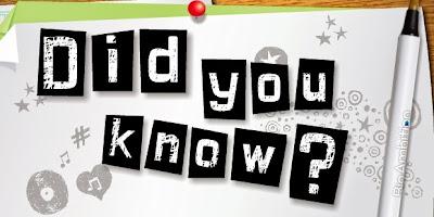 Tahukah kamu? 50 fakta unik, menarik, dan berwawasan ini bisa menambah pengetahuan kamu... Informasi tentang fakta unik di dunia terbaru tersebut memang benar adanya dan bisa membuat anda tercengang dan terkagum-kagum.