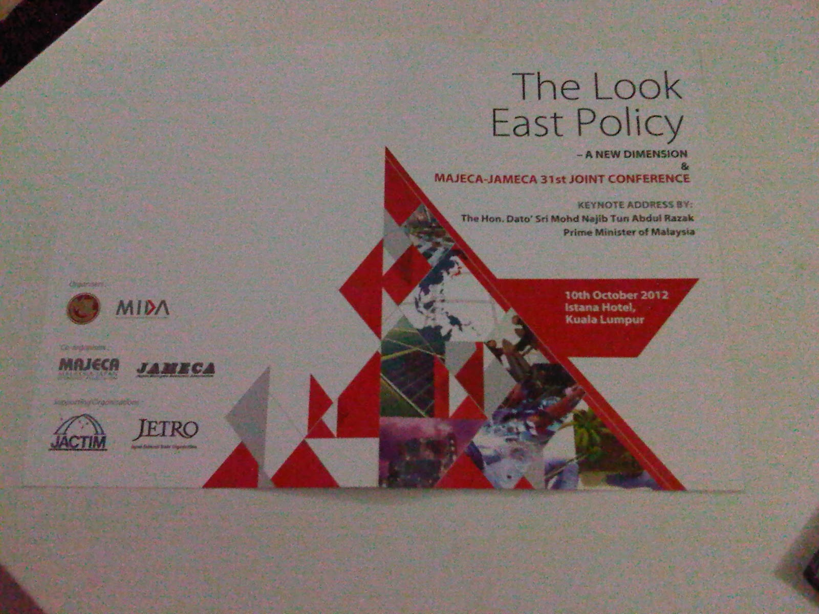 look east policy Look east policy: history and future for malaysia related to this and the tone of articles in malaysian newspapers, there are several articles.