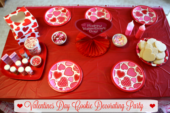 i hope this idea will inspire you to host a valentine cookie decorating party of your own
