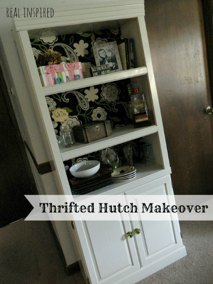 diy hutch makeover