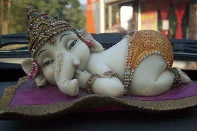 Bal Ganesh, Artistic ganesh, ganesh chilhood, funny ganesh