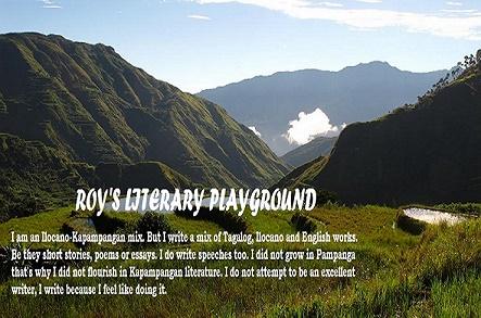 Read Roy's Literary Blog