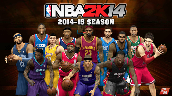NBA 2K14 Roster 2014-15 Season Update