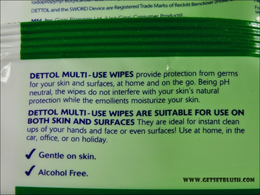 Dettol Multi-Use Wipes -Review & Demo