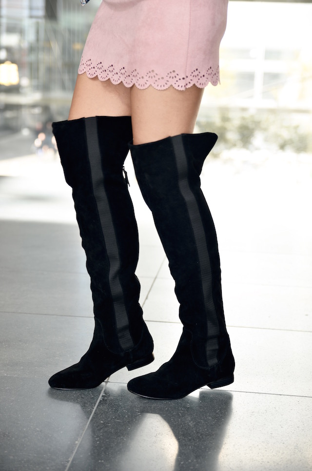 Rose Quartz and Over Knee Boots-mariestilo