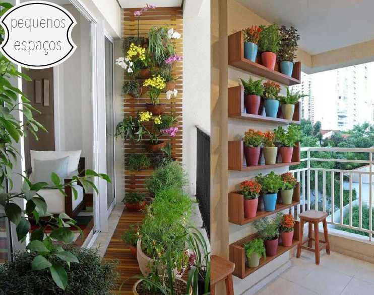 ideias jardim varanda: de 64m²: Inspirações: Ideias para decorar a varanda com plantas