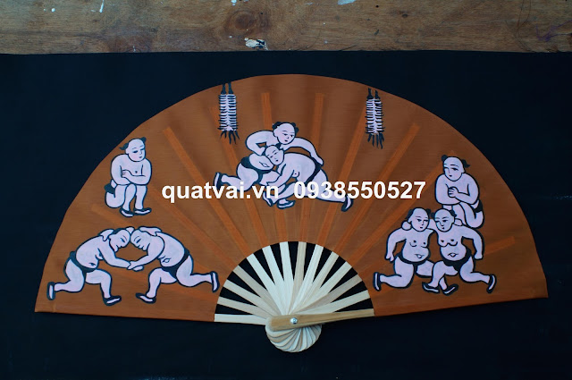 Quat tranh Dong Ho