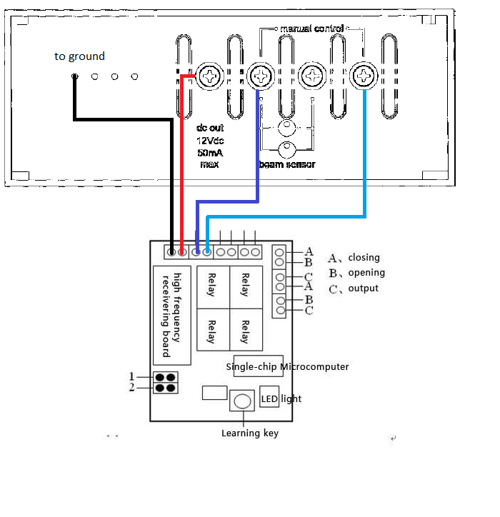 Andrewjameslee  Fixing Merlin 430r Garage Roller Door Wireless Remote