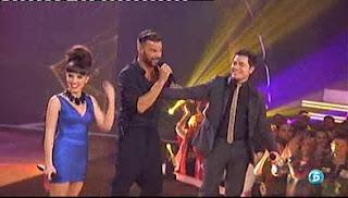 Riky Martin, Darío y Dina