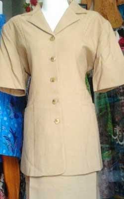Model baju dinas wanita dan guru lengkap