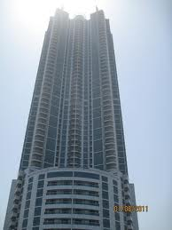 view from main entrance ajman corniche tower 1bhk flat available for rent in ajman 37000 per year ajman property finder