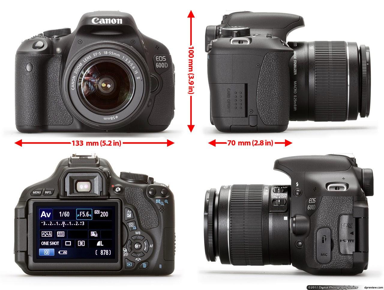 Harga kamera dslr 2014 for Housse canon eos 600d