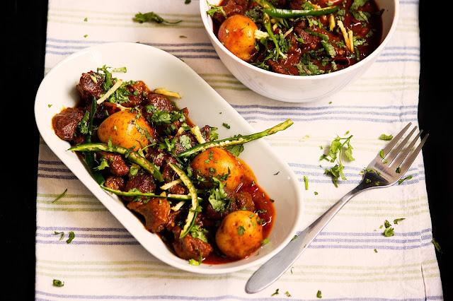 bangladeshi kata mosla mangsho recipe