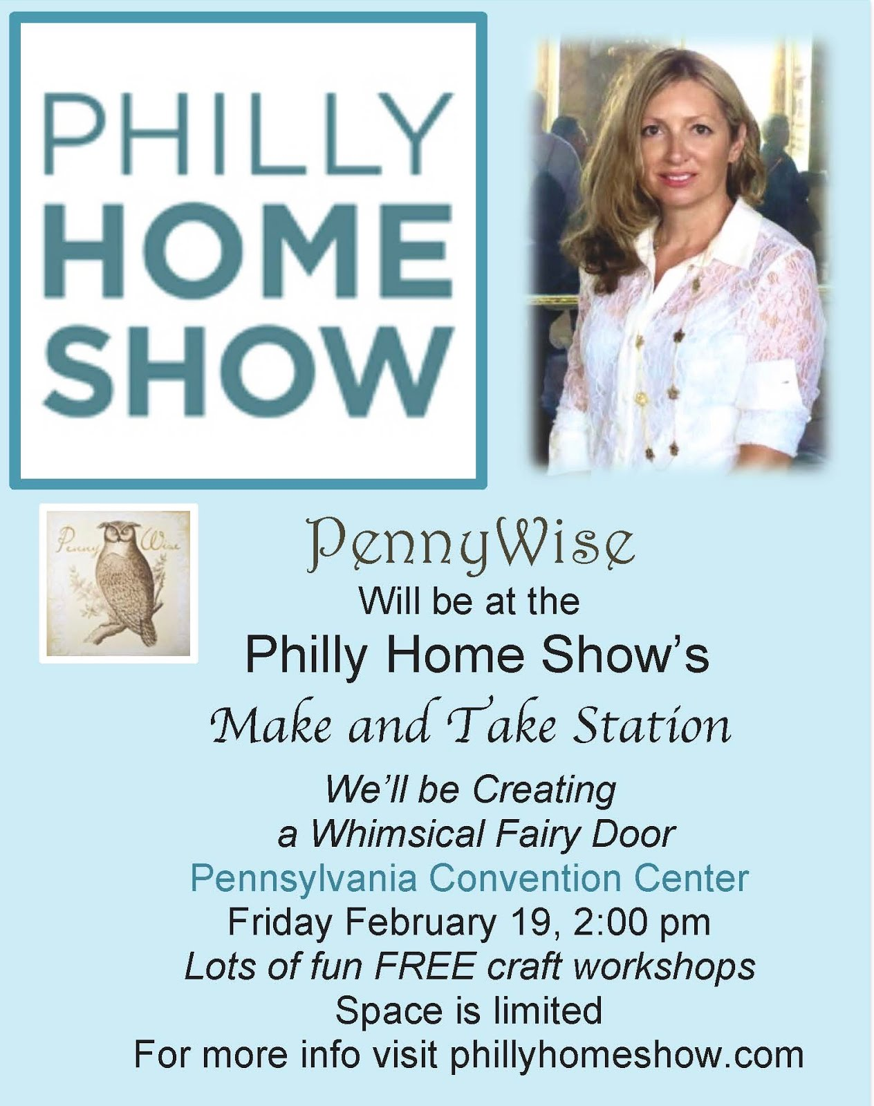 We'll be crafting at the Philly Home Show