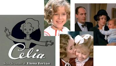 Imágenes de la serie de TVE 'Celia', 1993