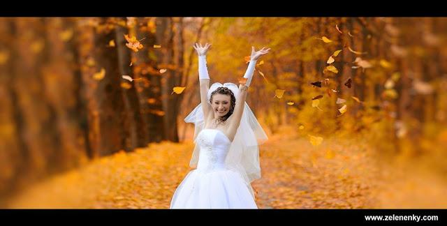 Осіння наречена, фото Юри Зелененького, Тернопіль, Україна