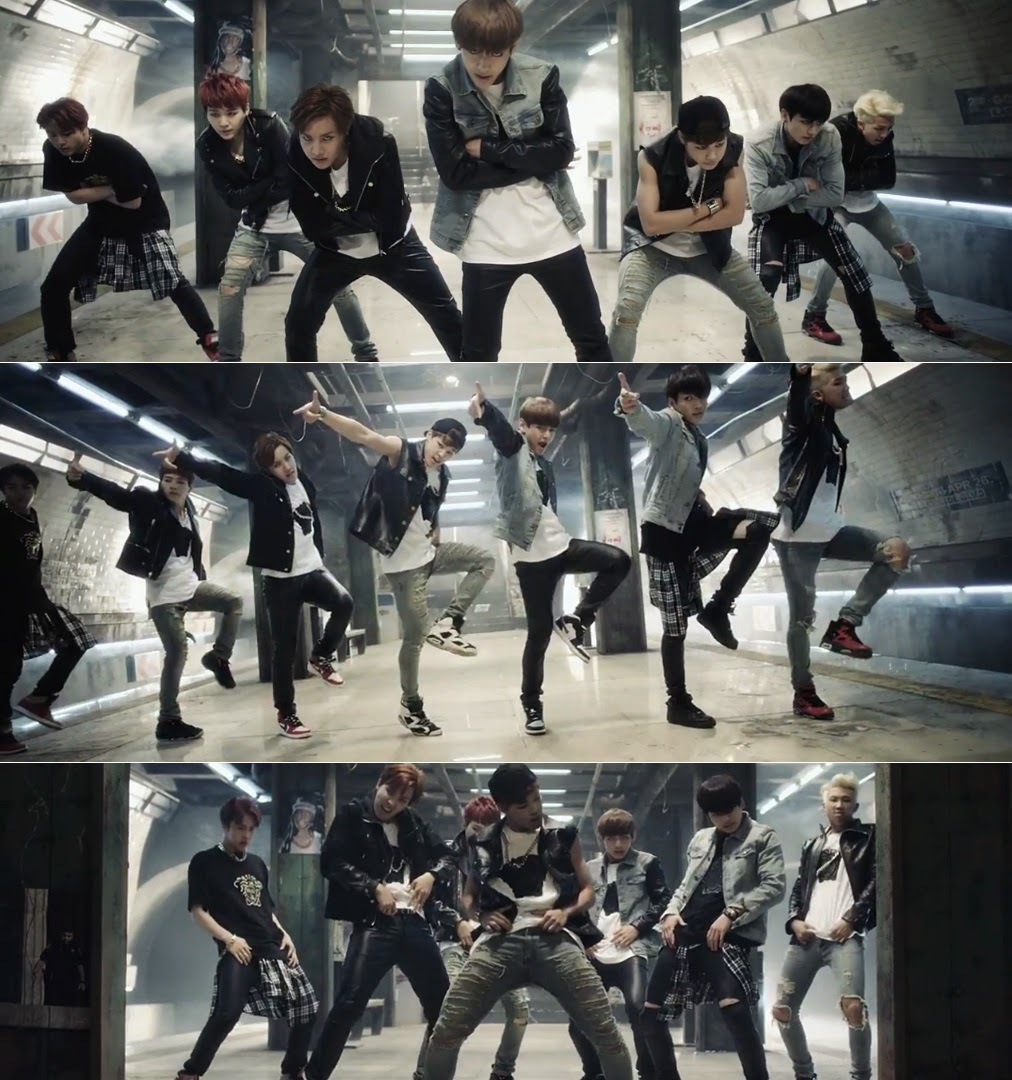 Bts tease with their intense dance moves in 2nd mv teaser for bts tease with their intense dance moves in 2nd mv teaser for danger baditri Images