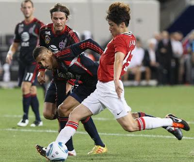 Ji Sung Park Midfielder Man Utd Tour USA