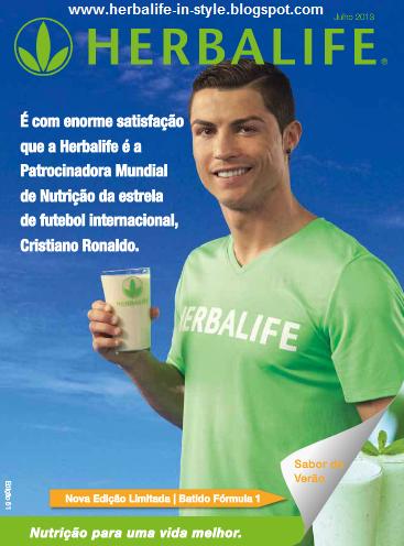 Brochura de Produtos Herbalife Portugal