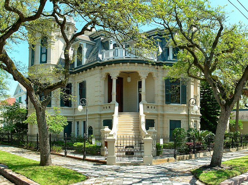 And I Wander Victorian Homes Of Galveston
