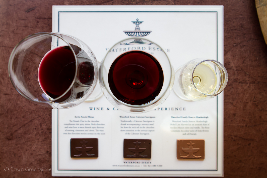 waterford stellenbosch chocolate wine