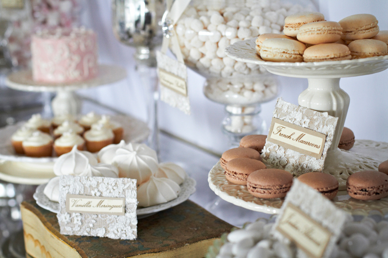 little bit of vintage French inspiration for your wedding