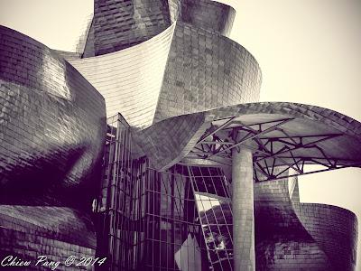 Guggenheim, Bilbao, in monochrome