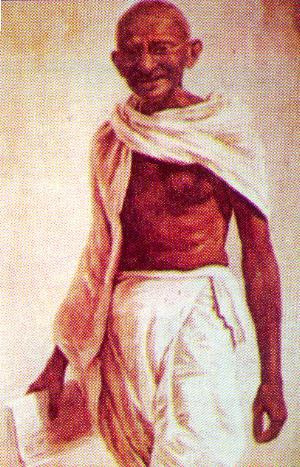 Mahatma Gandhi Wallpaper Painting