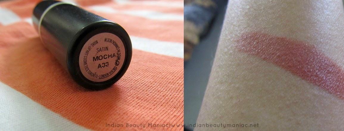 MAC Satin Lipstick Mocha