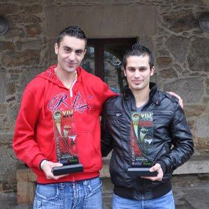 Sevi e Dani, Campións de España