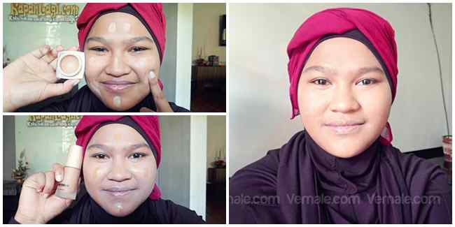 Tutorial Make up wajah Bulat dan Pipi Chubby | Keluarga Ale