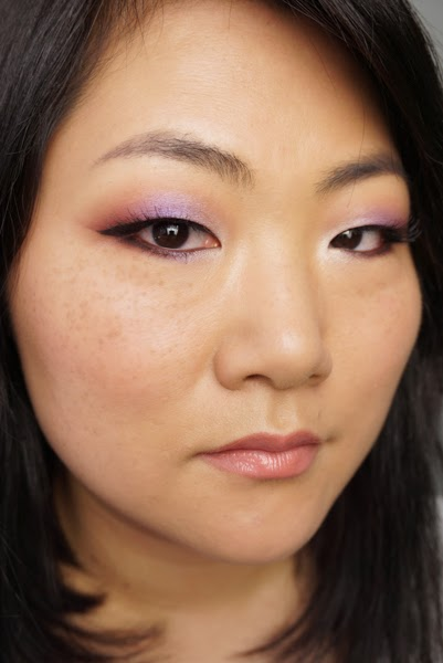 Makeup geek bitten and Caitlin rose makeup tutorial for asian monolid eyes