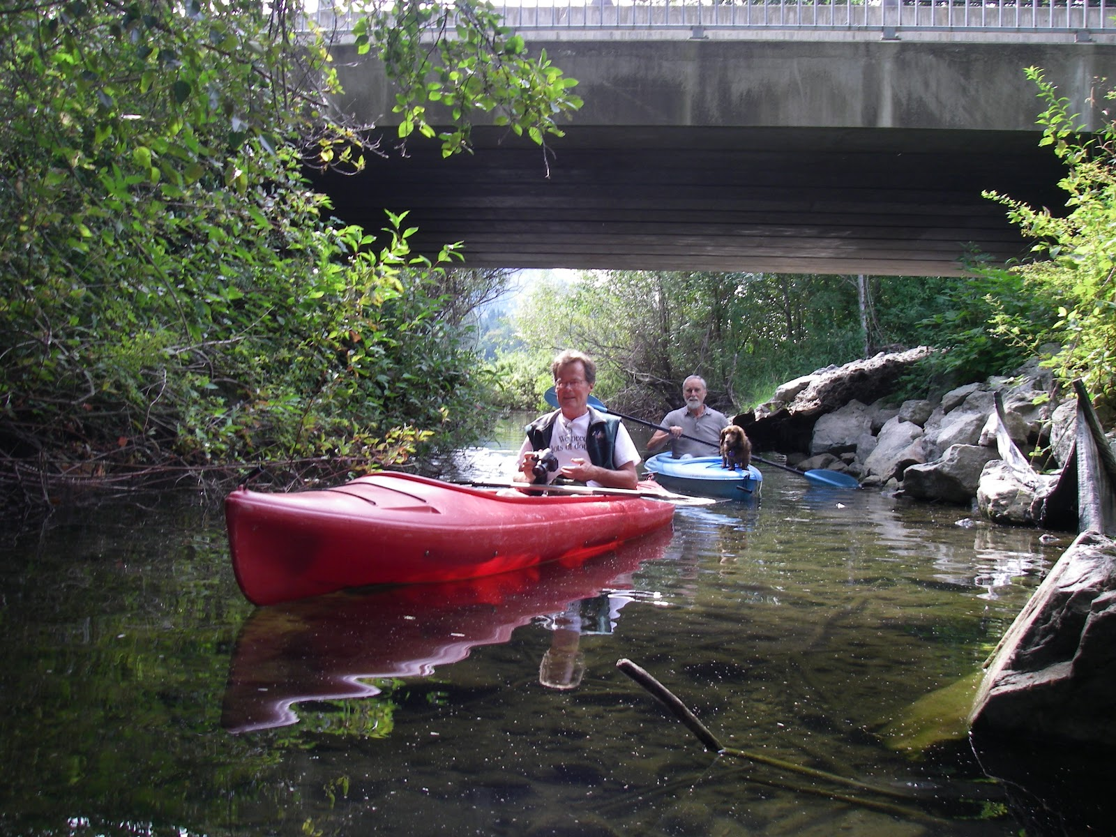 red kayak essay
