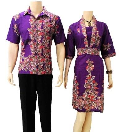 model baju batik guru terbaru