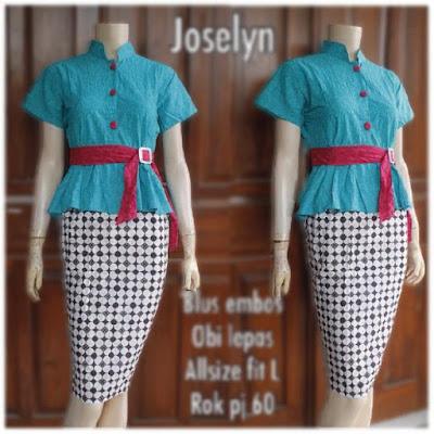 Kebaya Batik Modern Joselyn KBW 289
