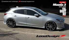 Mazda 3 BM Hatchback 2013-2018 Body Kit